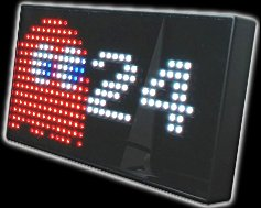 PAC-MAN Premium LED Desk clock